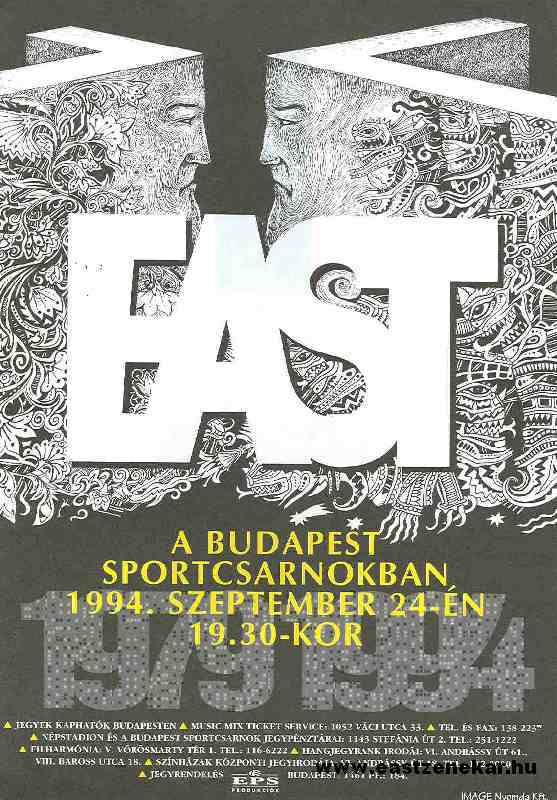 East 1994 / BS plakát